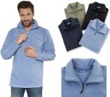 Fleece Pullover Troyer Gr. S