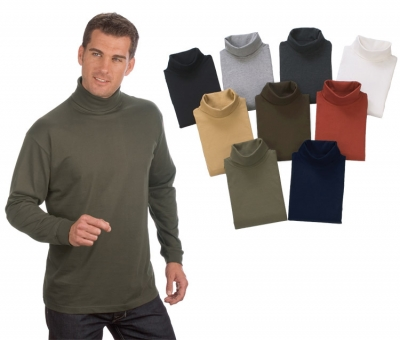 - Longsleeve Roll Neck Shirt