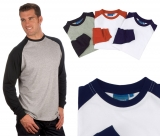 Longsleeve Baseball Shirt Gr. XL