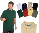 Short Sleeve Pique Polo Golf Shirt